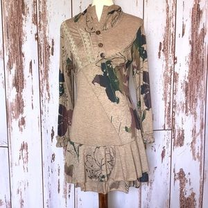 NWT hooded Tunic style boutique dress